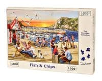 Fish & Chips - 1000 Pieces|House of Puzzles